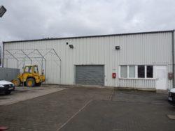 Werkstatthalle des Winterdienstes Stahlschmidt